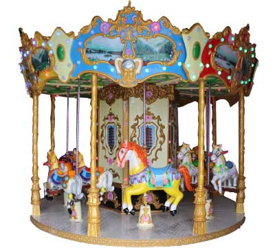 famous carousels