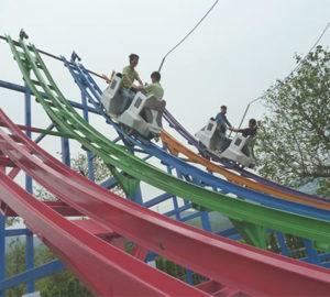 half loop roller coaster for sale