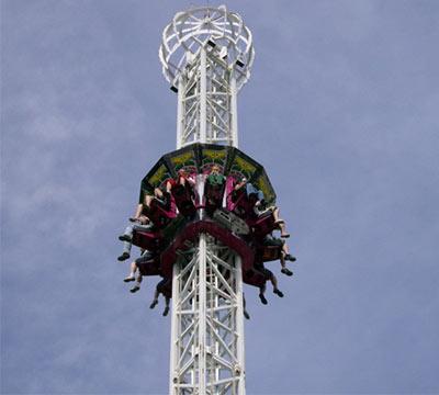 sky drop ride