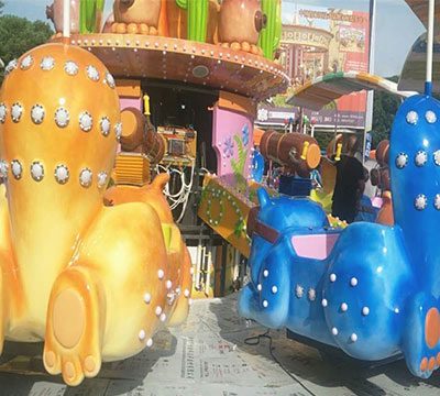 flying squirrel rescue amusement ride for sale