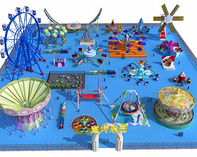 amusement attractions for sale