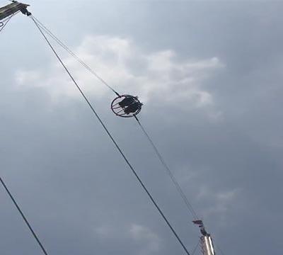 highest reverse bungee jump