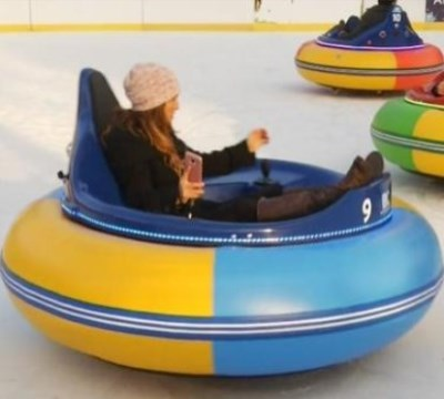 bumper cars on ice near me