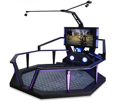 virtual reality simulator games