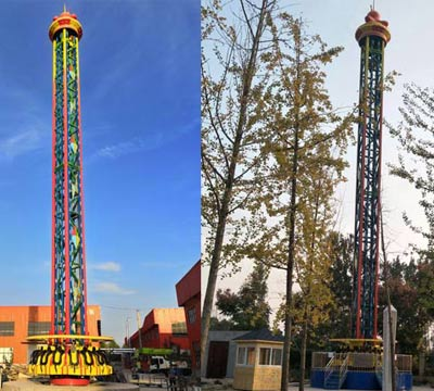 buy giant drop tower thrill rides for sale
