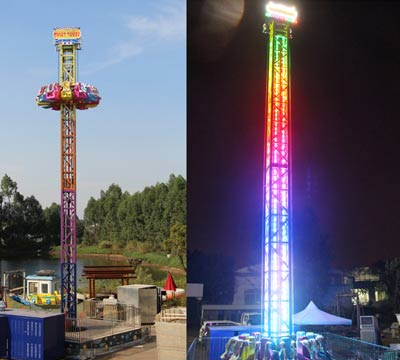 quality drop tower amusement park rides prices